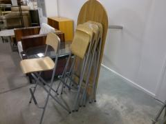 Barbord + 4st stolar