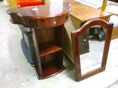 Hallbord + spegel