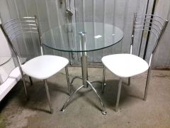 Pelarbord + 2st stolar