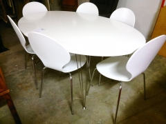Matbord + 6st stolar