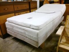 Ställbar säng