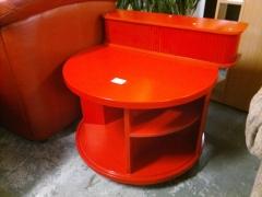Soffbord + väggskåp