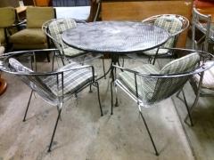 Bord + 4st stolar
