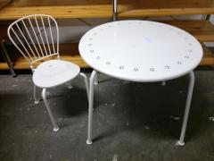 Barnbord + stol