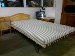 Sängram + madrass