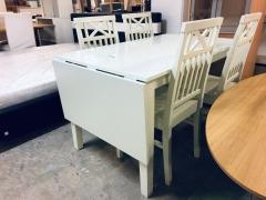 Klaffbord + 4st stolar