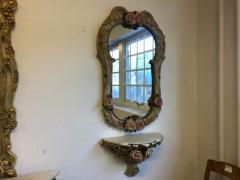 Spegel + väggbord