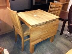 Klaffbord + 2st stolar